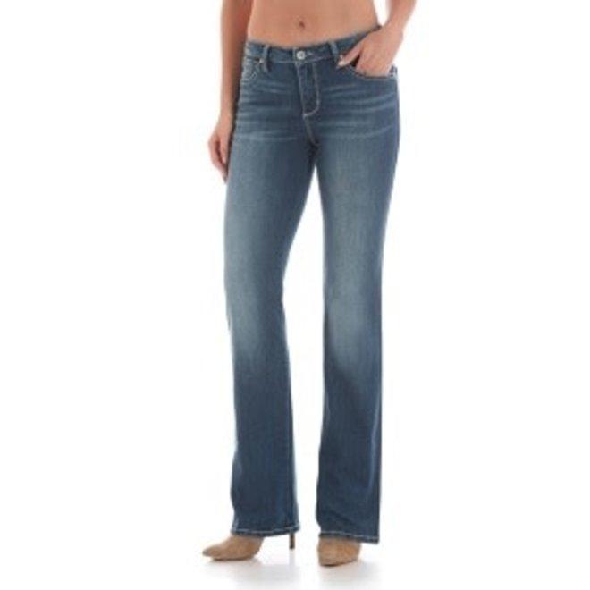Ladies Med Blu Aura Jean