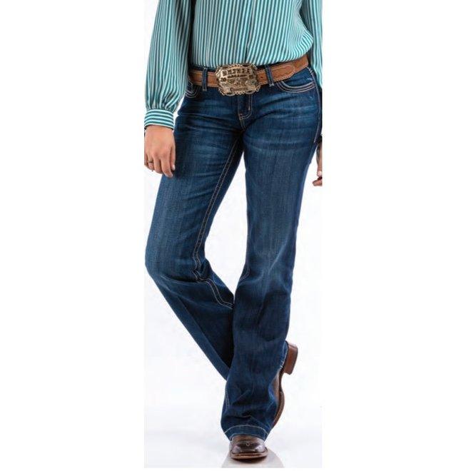 Ladies JAYLEY Mid Rise Jean