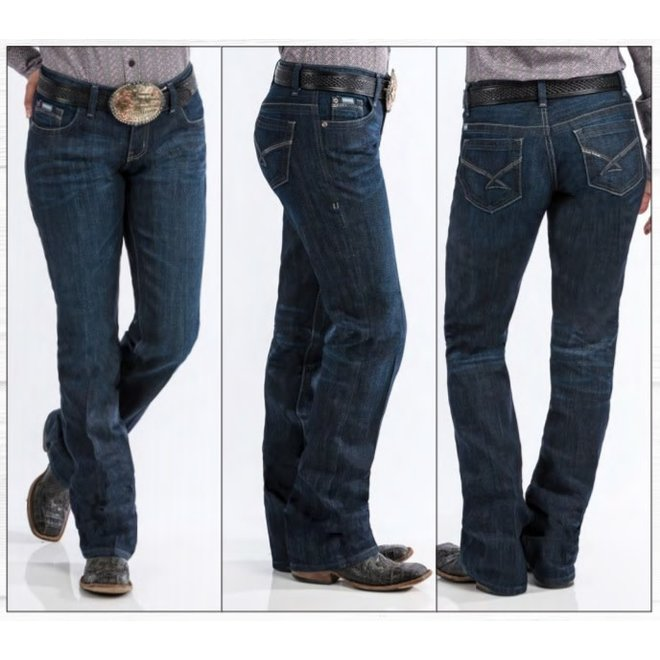 Ladies Mid Rise Relaxed Jean