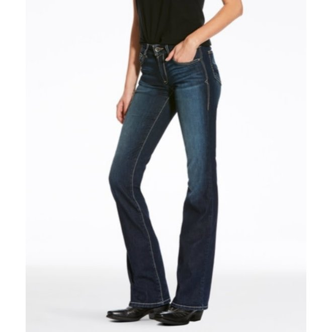 Ladies Perfect High Rise Boot Cut Jean
