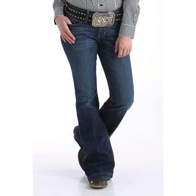 Ladies Dark Slim Trouser Jean