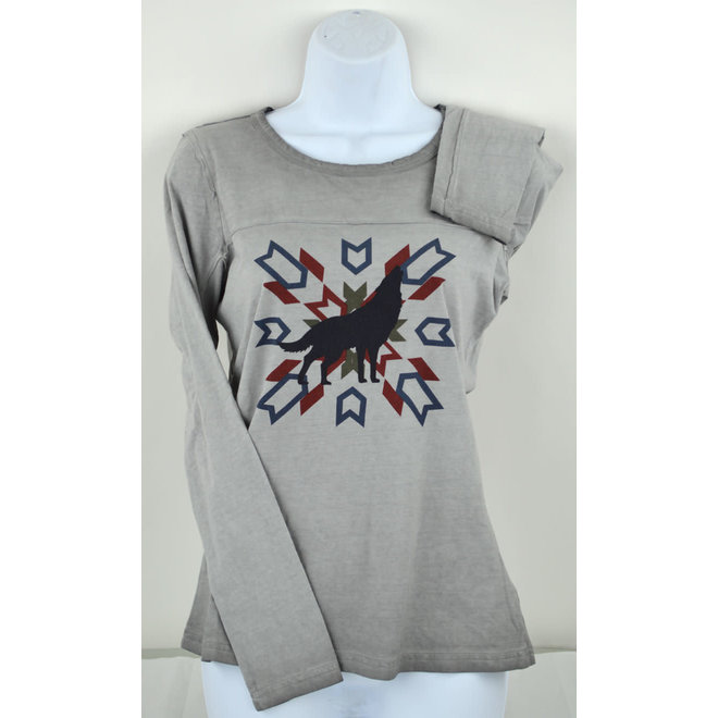 Ladies Heather Grey Kane Top