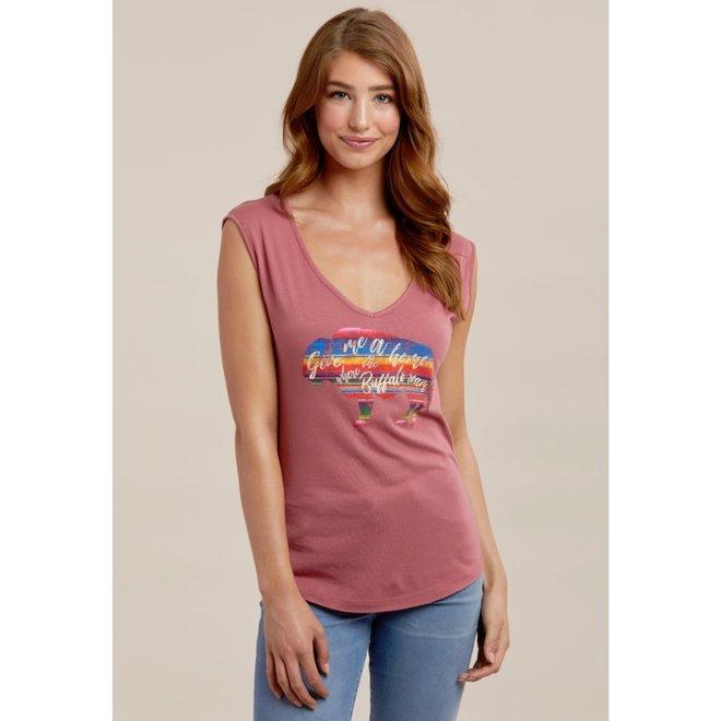 Ladies Smoked Paprika T-Shirt