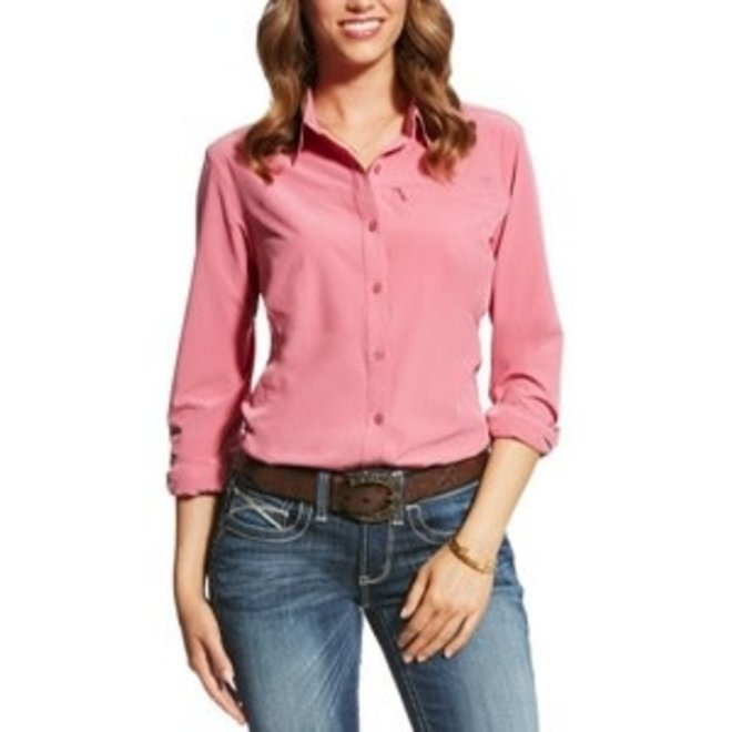 Ladies Rose Kirby Tek Shirt