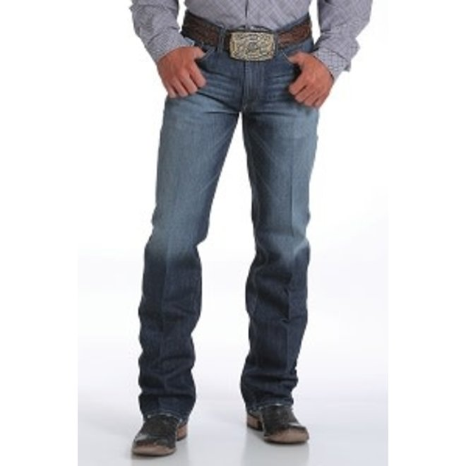 Mens White Label Dark Wash Jeans