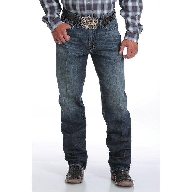 Mens Sawyer Loose Dark Jeans