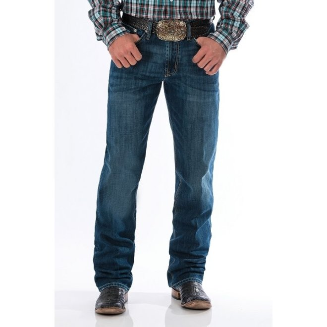 Mens White Label Mid Stone Jeans