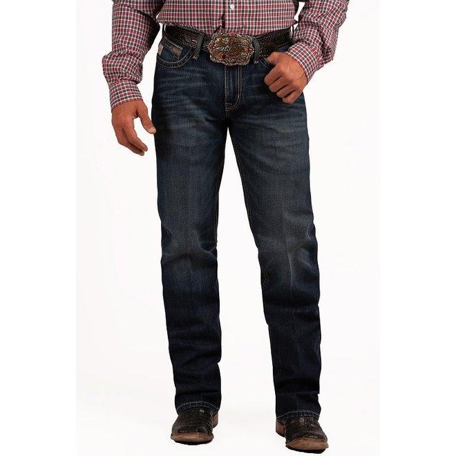 Mens Mid Rise Relaxed Boot Cut GRANT Rigid Jean