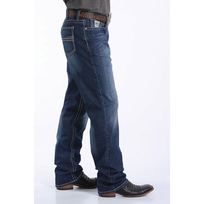 Mens Mid Rise Straight Leg White Label Jean