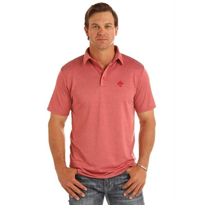 Mens Poly Blend Polo Shirt