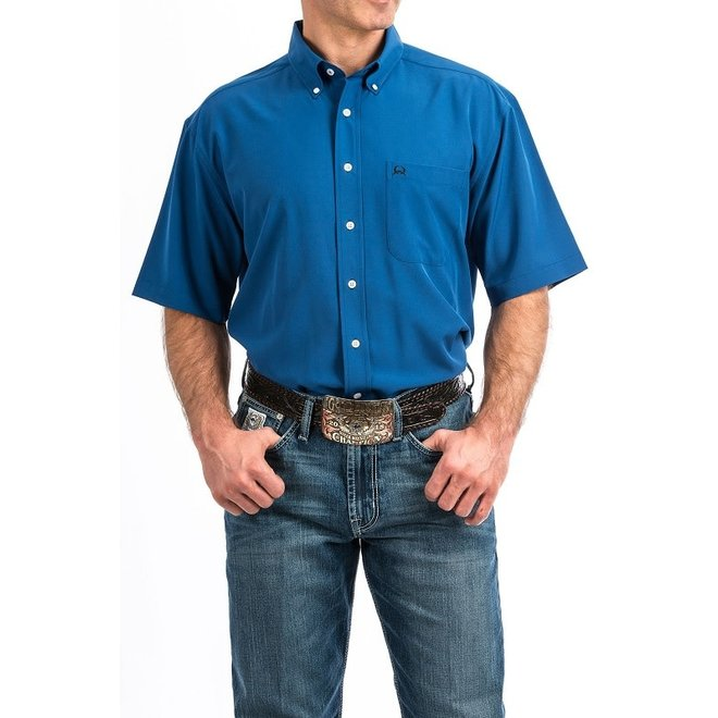 Mens Arena Flex Blue Lightweight Shirt