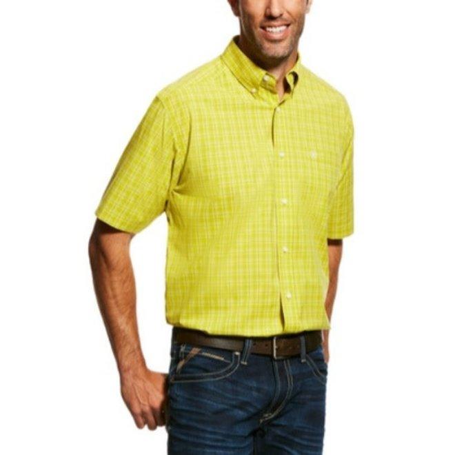 Mens Citronelle Classic Fit Plaid Shirt
