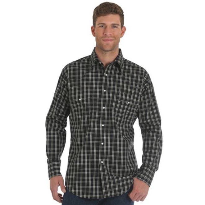 Mens WR Check Snap Shirt