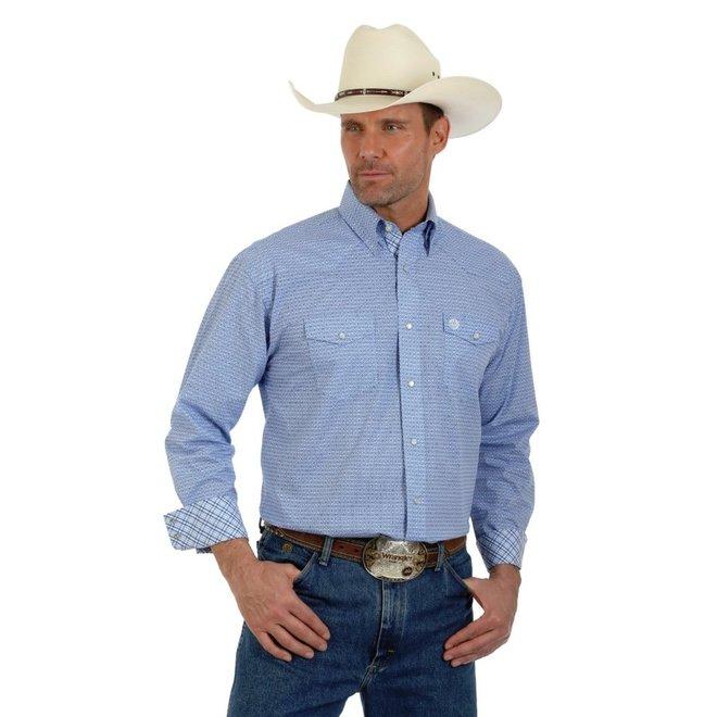 Mens George Strait Troubador Western Snap Shirt