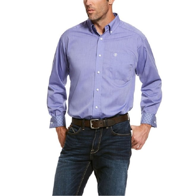 Mens Dusted Periwinkle Shirt