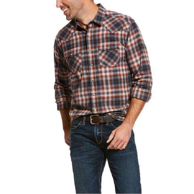 Mens Kemper Retro Snap Shirt