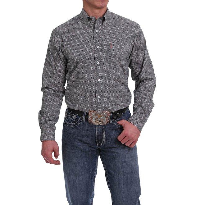 Mens Multicolor Priint Button Shirt
