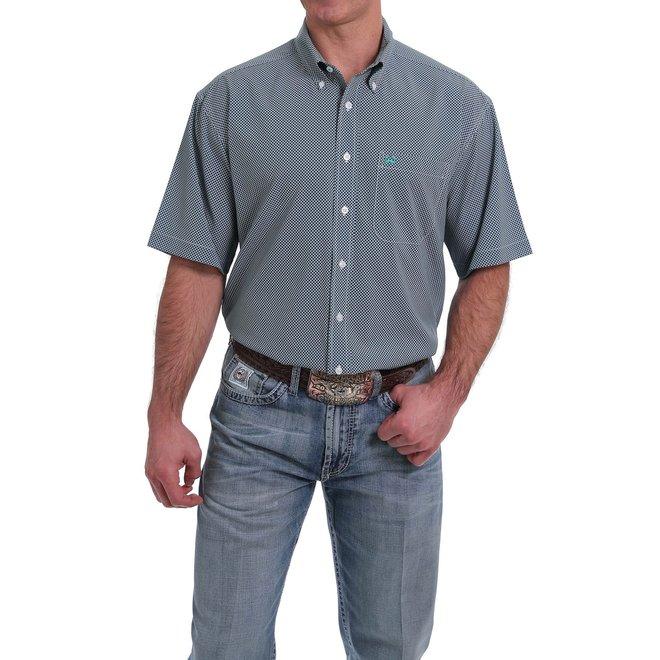Mens Short Sleeve Button Shirt