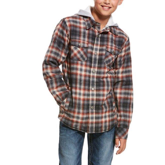 Boys Kemper Flannel Snap Jacket