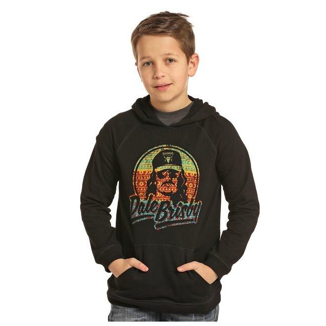 Boys Black Dale Brisby Hoodie