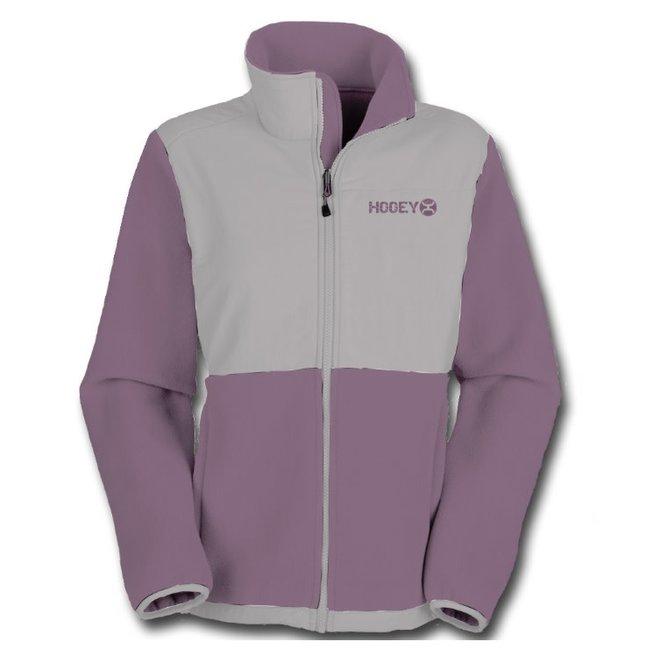 Ladies Plum Fleece Tech Jacket
