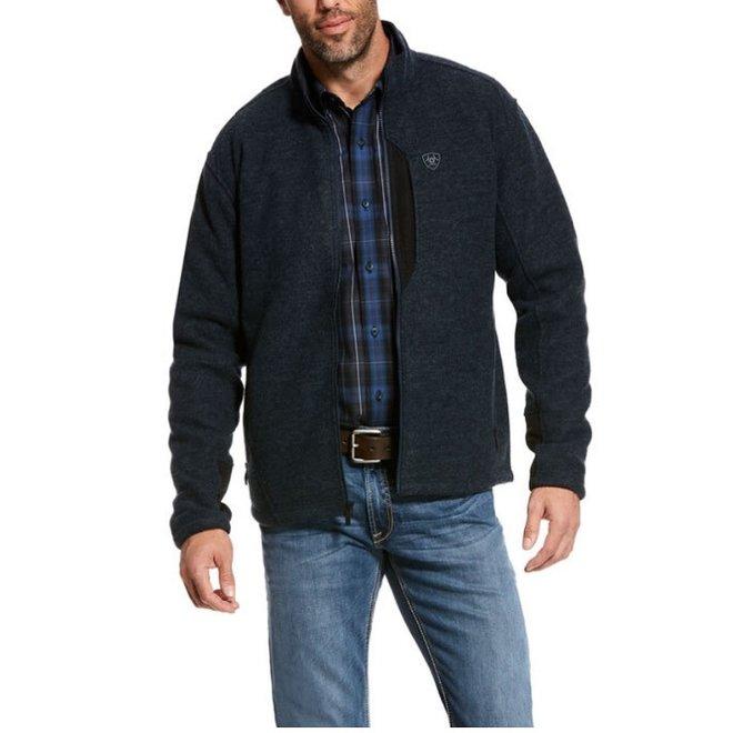 Mens Bowdrie Bonded Zip Jacket