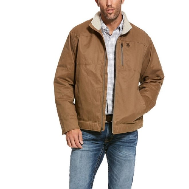 Mens Cub Grizzly Canvas Jacket