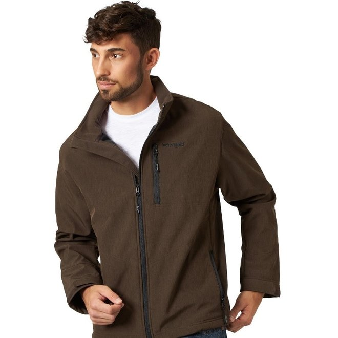 Mens Brown Heather Trail Jacket