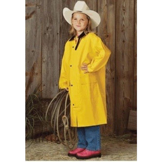 Kids Yellow Saddle Slicker