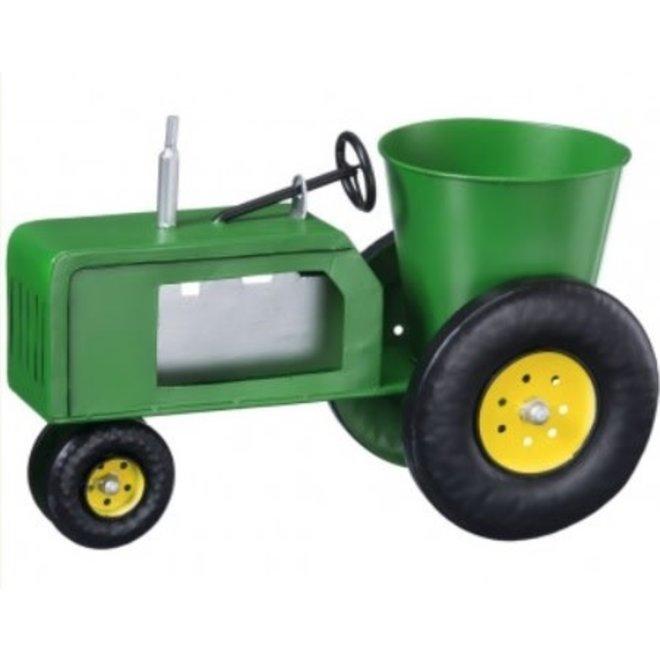 Metal Tractor Planter