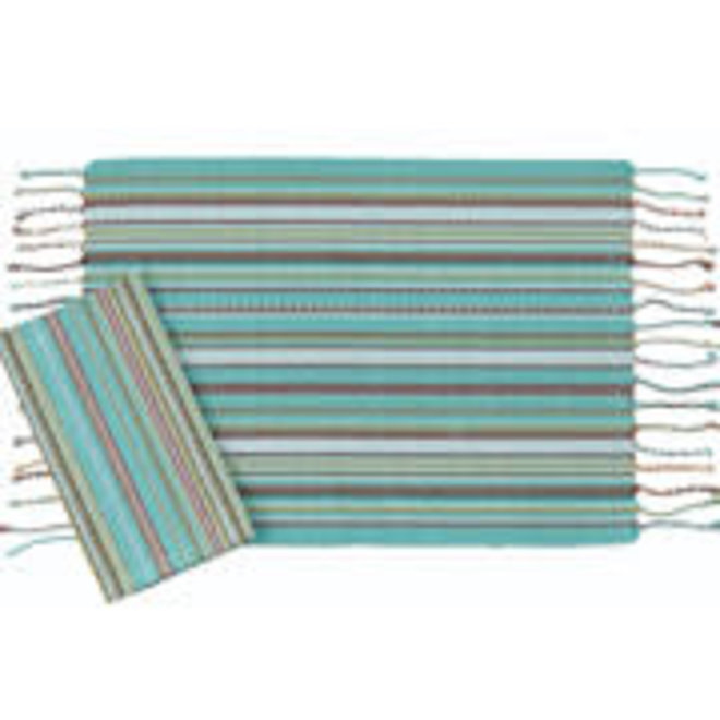 Serape Turquoise Placemat