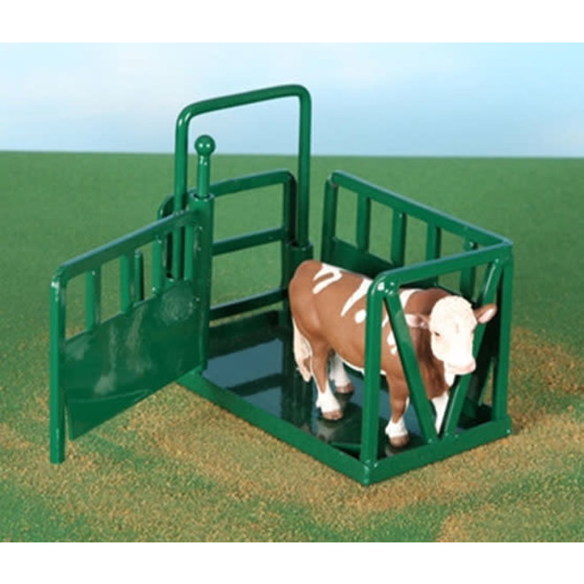 Cattle Squeeze Chute Green