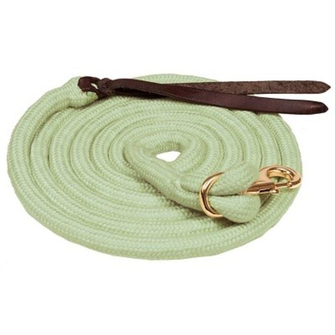 Hunter Green Bamboo Lead Rope
