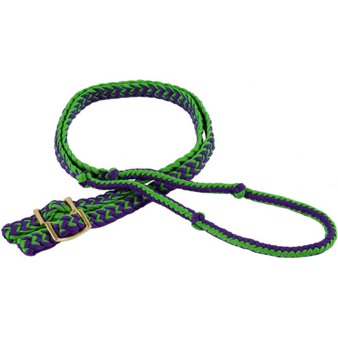 Nylon Braided Rein with Knots