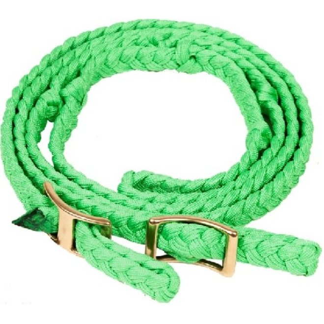 Braided Knot Barrel Rein