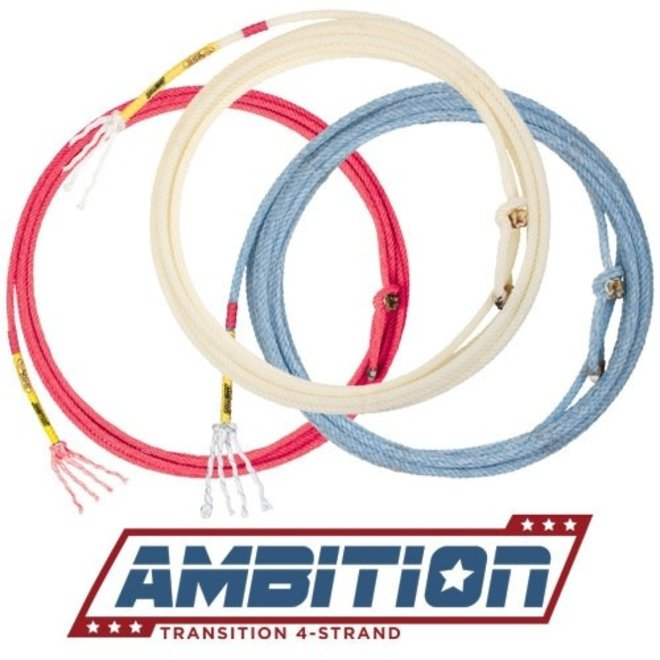 Ambition 4 Strand Transition Head Rope