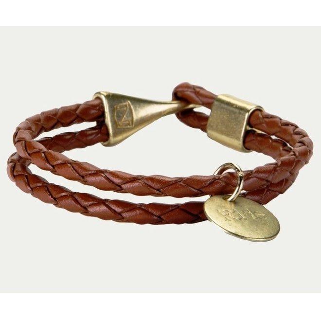 Braided Cinna Charm Bracelet
