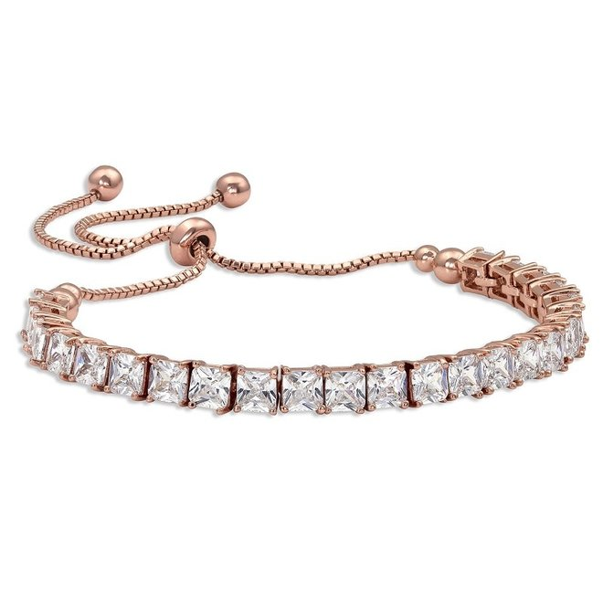 Rose Gold Tennis Bracelet