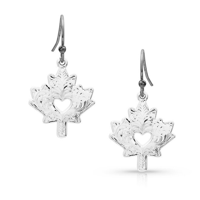 I Heart Canada Earrings