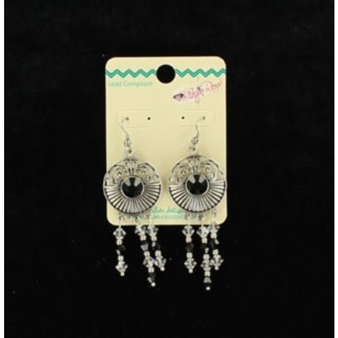 Medallion Dangle Earrings