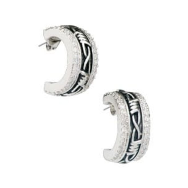 Vintage Charm Rancher's Daughter Cuff Earrings