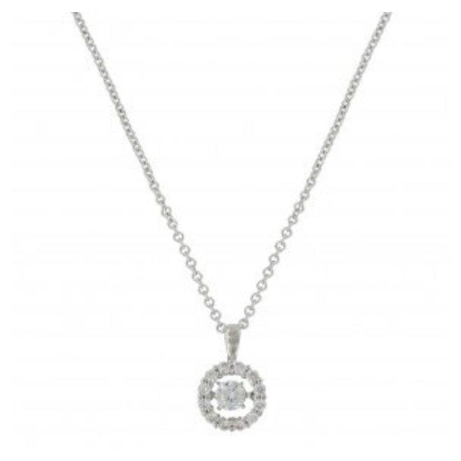 Halo Circle Necklace