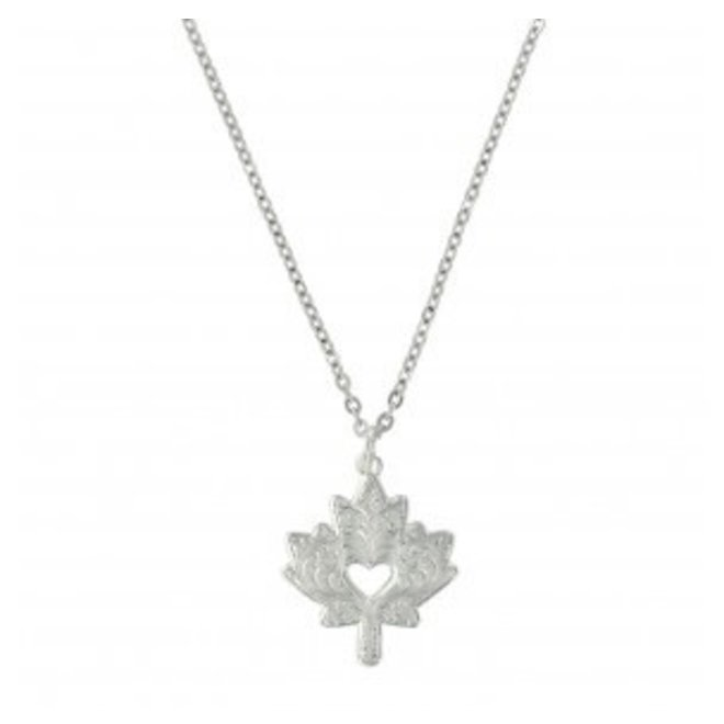 Oh Canada Maple Leaf Necklace