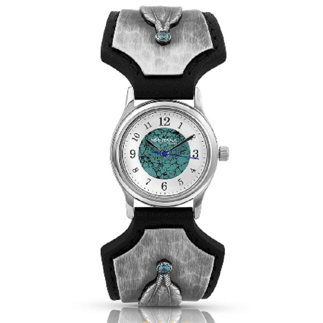 River Rock Feather Whispers Watch