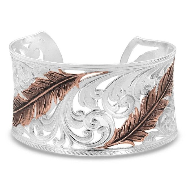 Heavenly Whispers Feather Cuff