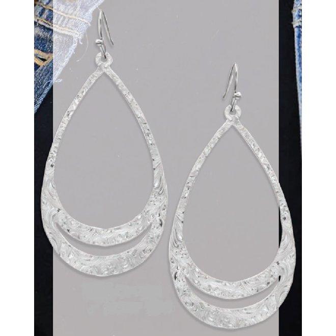 Think TwiceTeardrop Earrings