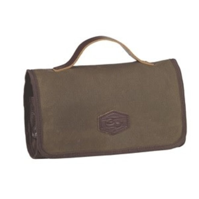 Canvas Trifold Toiletry Bag