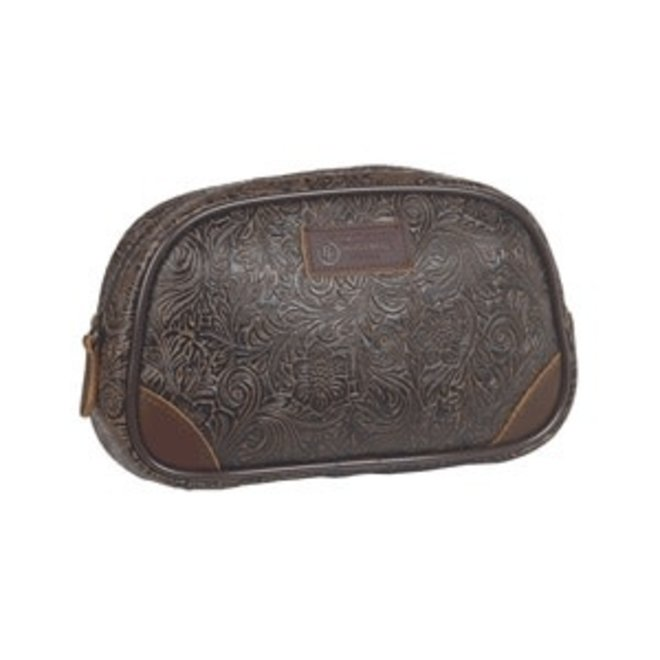 Tooled Travel Bag