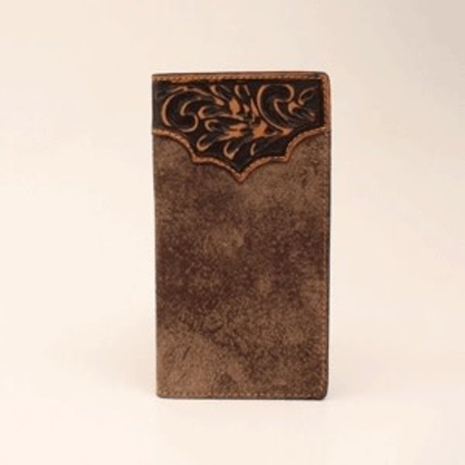 Distressed Leather Rodeo Wallet