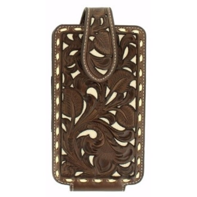 Large Cell Phone Leather Case